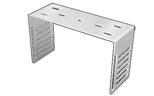 11067 Stainless Steel Radio Bracket for 10 Meter Radios