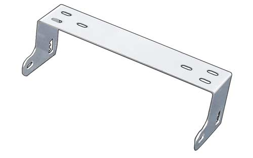 Roadworks 11068 - 10 Meter Radio Mounting Bracket - Stainless St