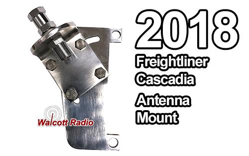 Freightliner Cascadia CB Antenna Mount for 2018+ P4 Models