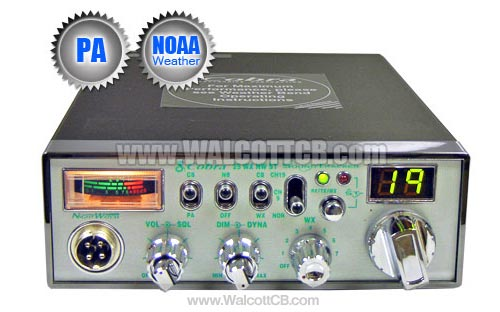 Cobra 25WXNWST NightWatch CB Radio & Weather