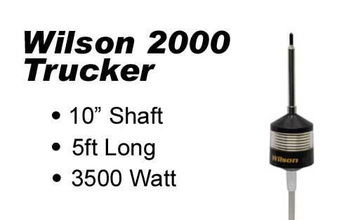 Wilson Trucker 2000 Antennas 10
