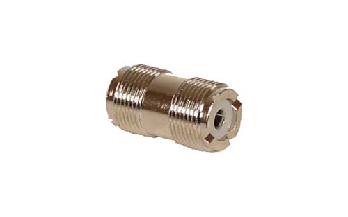 Double Female UHF Connector (PL-259-Female to PL-259-Female)