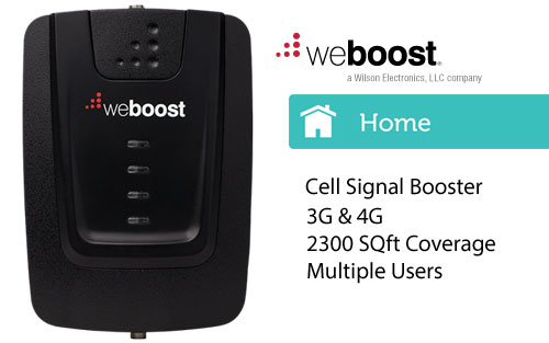 WeBoost Home / Office 4G High Performance Cell Phone Booster/Amplifier for Multiple Devices 470103