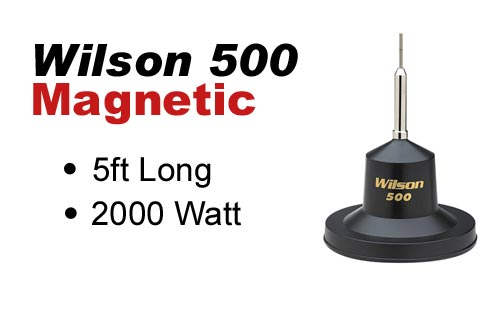 Wilson 500 Magnet Mount Antenna - 500100 880-500100