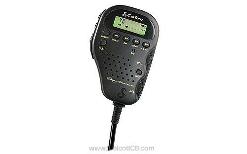 Cobra 75WXST Remote CB & Weather Radio