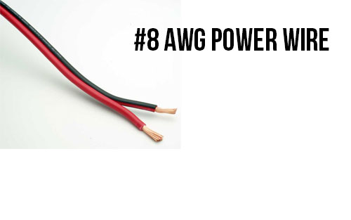 8 AWG Power Wire - Bulk