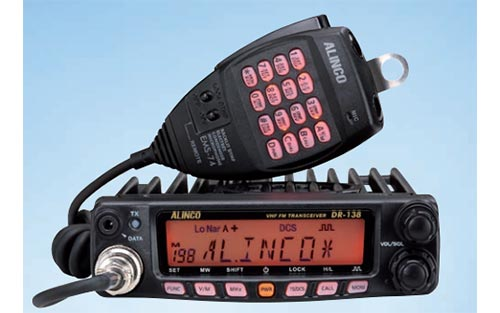 Alinco DR138T Type-90 VHF Transceiver 136 - 174 Mhz