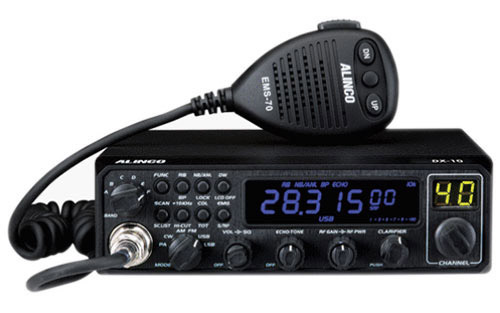 Alinco DX-10 10 Meter Amateur Radio with SSB AM FM CW Modes
