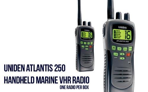 Uniden Atlantis 250 VHF Handlheld Marine Radio