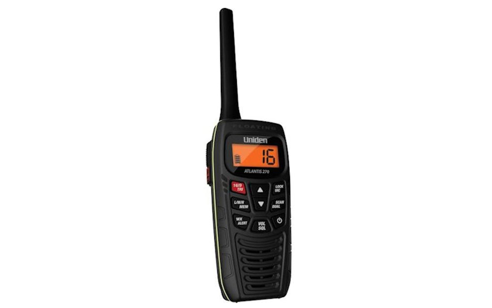 Uniden ATLANTIS 270 Handheld Floating Two-Way VHF Marine Radio