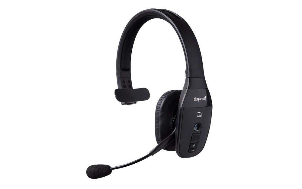VXi BlueParrott B450-XT Bluetooth Headset with A2DP and extreme comfort for long use