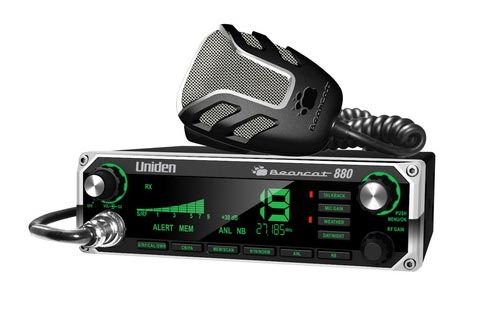 Uniden BC880 CB Radio w/ Weather