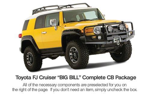 Complete Toyota FJ Cruiser CB Radio System
