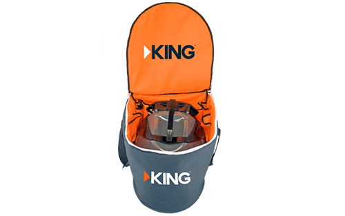King Portable Carry Bag for Tailgater and Quest Satellite TV Antennas