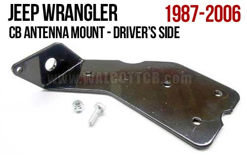 CBML - Jeep Wrangler CJ, TJ, YJ Antenna Mount Driver Side
