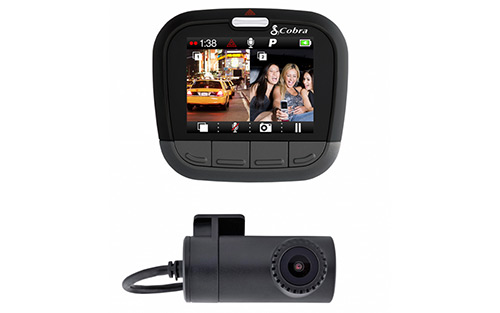 Cobra CDR895D Dual Camera Dash Cam System