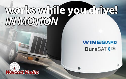 Winegard Durasat D4 In-Motion Automatic Satellite Antenna - White CM2000T