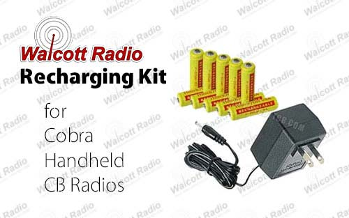 Recharge Kit for Cobra Handheld CB Radios
