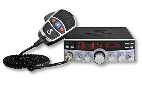 Cobra 29 LX MAX CB Radio with Smartphone Enhanced Features and Legal Hands-Free Calls