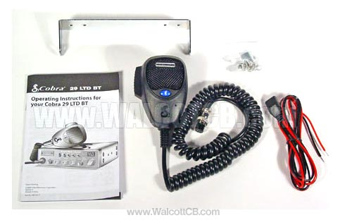 Cobra 29ltdbt Bluetooth Cb Radio With Built In Swr Meter