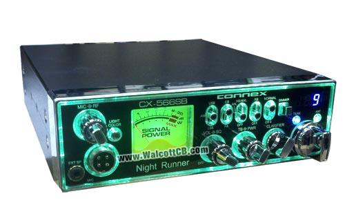Connex CX-566-SB Multicolor CB Radio with SSB