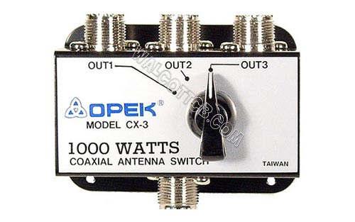 CX3 - 3 Position Coax Switch