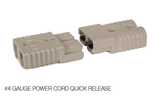 DC4 - 4 Gauge Power Cord Quick Disconnect