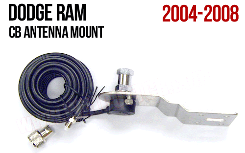 Dodge Ram 2004 - 2008 Hood/Fender Antenna Mount DODGE2