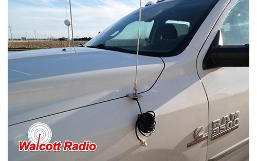Dodge Ram 2009 2016 Hood Fender Antenna Mount Dodge3
