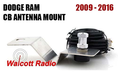Dodge Ram 2009 - 2016 Hood/Fender Antenna Mount DODGE3