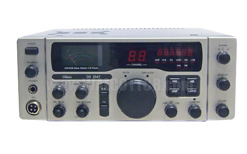 Galaxy DX2547 CB Base Radio AM / Single Side Band (SSB)