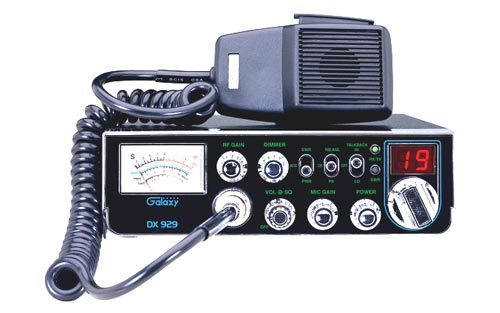 Galaxy DX 929 CB Radio With StarLite Faceplate