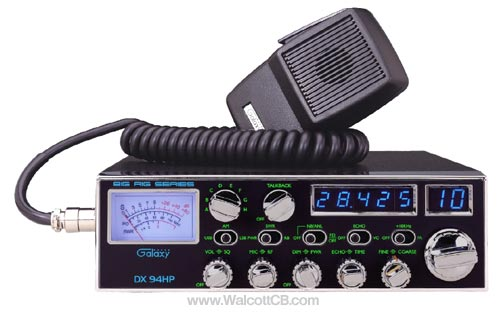 Galaxy DX94HP 100w 10 Meter Amateur Radio Single Sideband (USB/L