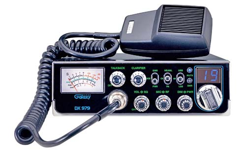 Galaxy DX 979 CB Radio With StarLite Faceplate & Sideband