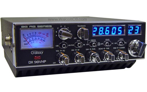 Galaxy DX98VHP 200 Watt 10 Meter Radio with Single Sideband