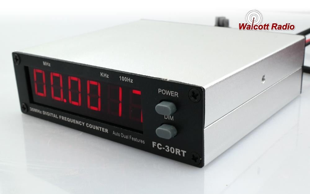 Red Frequency Counter for 10 and 11 Meter Radios
