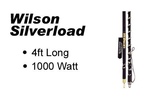 Wilson 4' FGT Silverload Fiberglass Antenna
