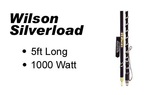 Wilson 5' FGT Silverload Fiberglass Antenna - Black