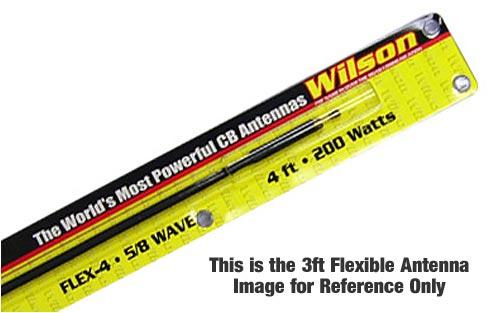 FLEX3 Wilson Flexible Fiberglass Antenna