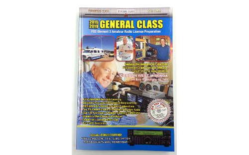 Gordon West General Class Amateur License Book + Audio CD's 2015 - 2019