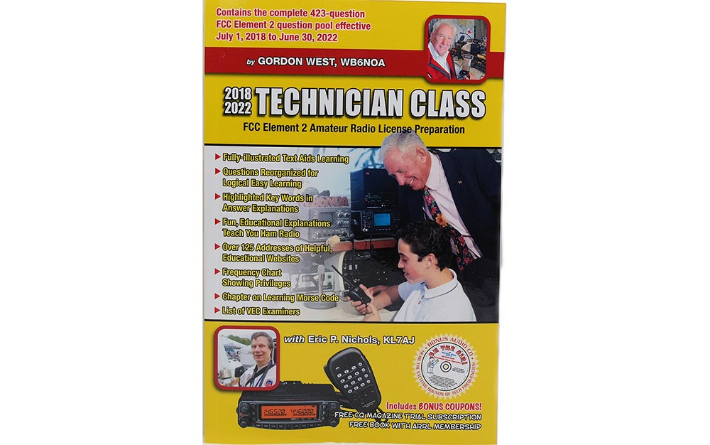 Gordon West Technician Class Amateur License Book 2018-2022