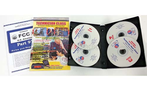 Gordon West Technician Class Amateur License Book + Audio CD's '14-'18
