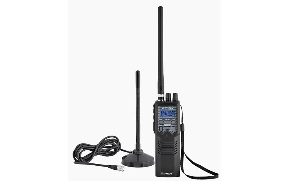 Cobra HHRT50 Handheld CB Radio and Magnetic Antenna