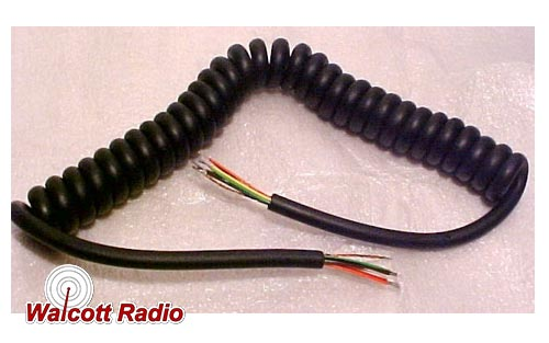 Microphone Cord 8-Wire 10 Feet Long Replacement (no connector)