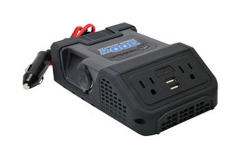 MobileSpec 300 Watt Multi-Purpose Power Inverter with USB Ports