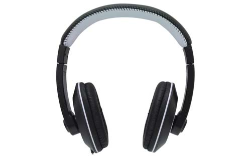 MobileSpec Chords Series Stereo Headphones with In-Line Microphone