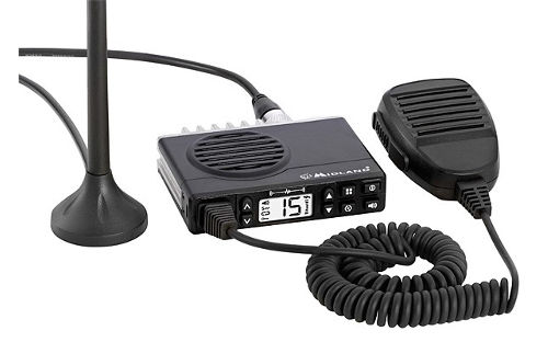 Midland MXT100 Micro Mobile 2 Way GMRS Radio