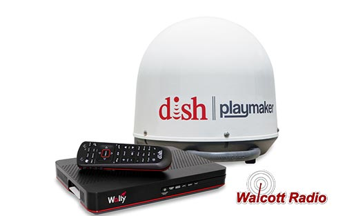 Winegard DISH Playmaker Satellite TV Antenna PA1000R and Dish Wally Receiver Bundle