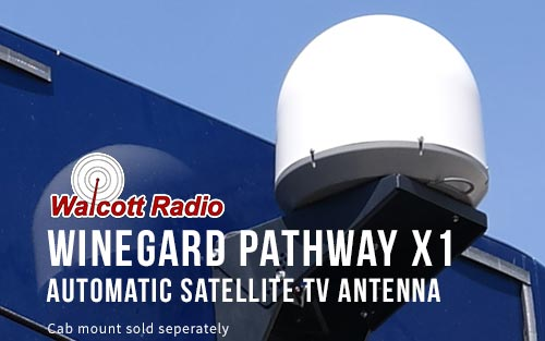 Winegard PA-2000 Pathway X1 Portable Automatic Satellite Antenna for DISH - White