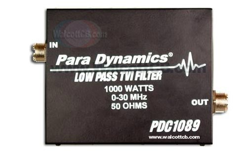 PDC1089 - Cuts Down On TV Interference Low Pass Filter